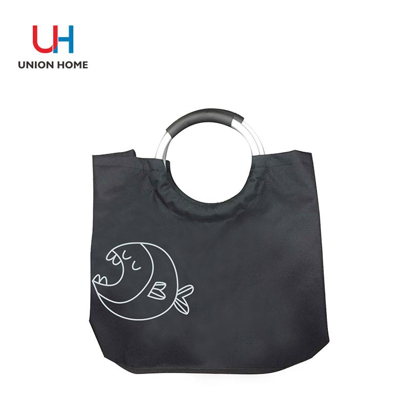 Aluminum ring handels laundry bag