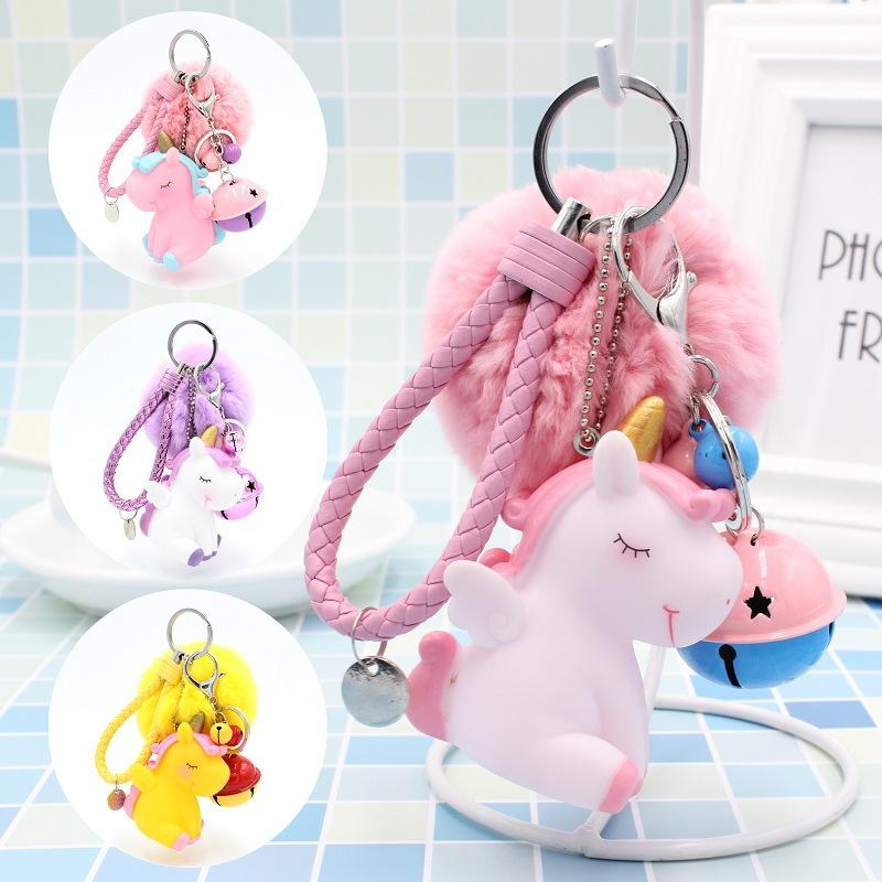 The unicorn key chain