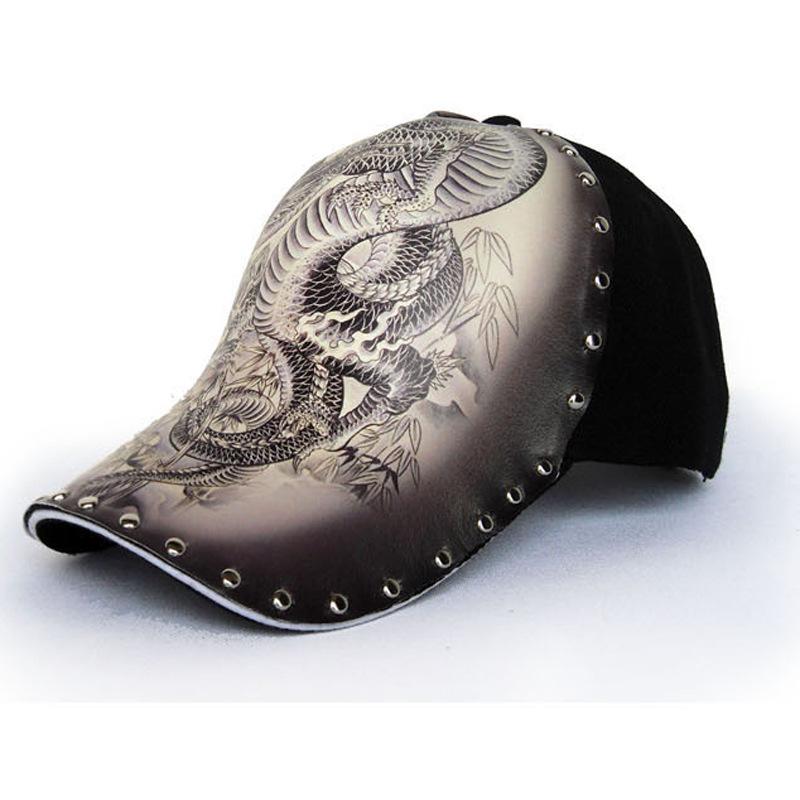 Dragon tattoo baseball cap