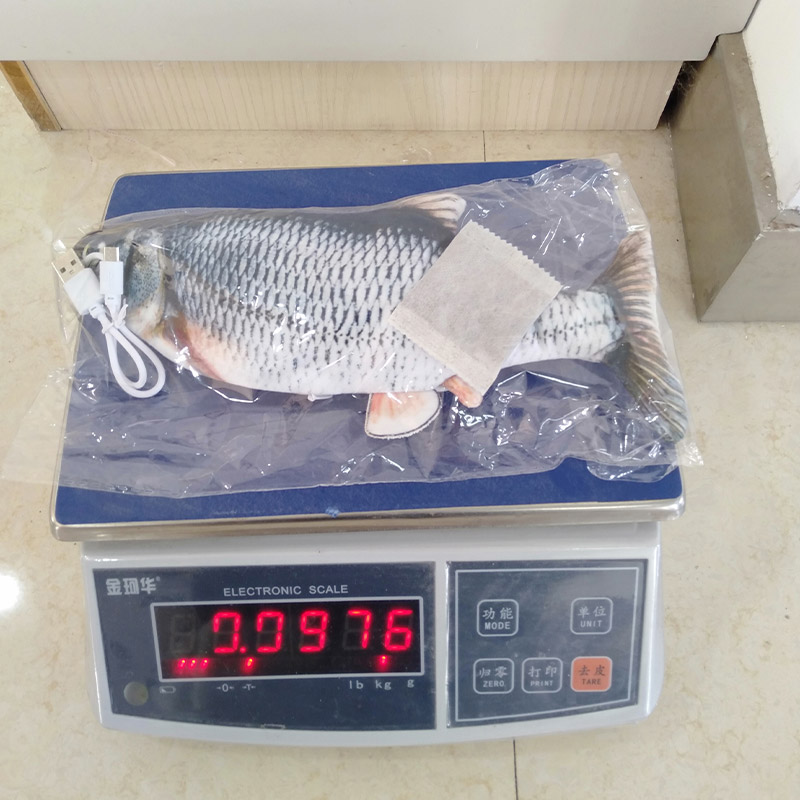 China simulated fish toy manufacturer