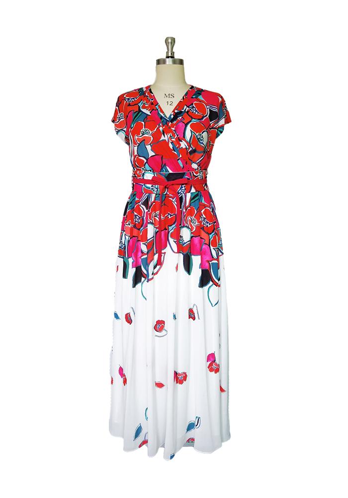Place floral dress