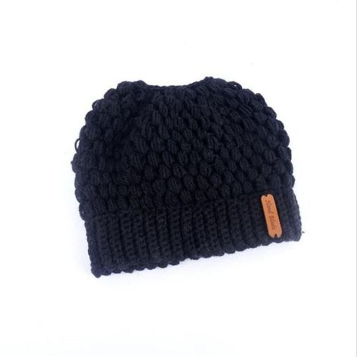 Women Beanie Ponytail Hat