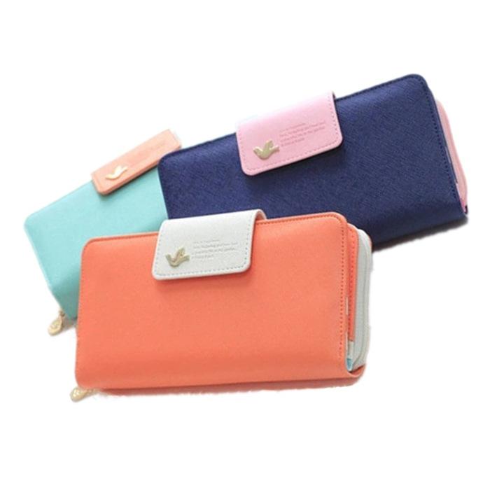 Lady's zip zero wallet