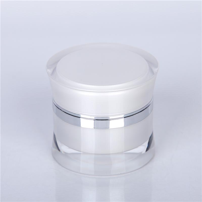 30ml acrylic cosmetic jars