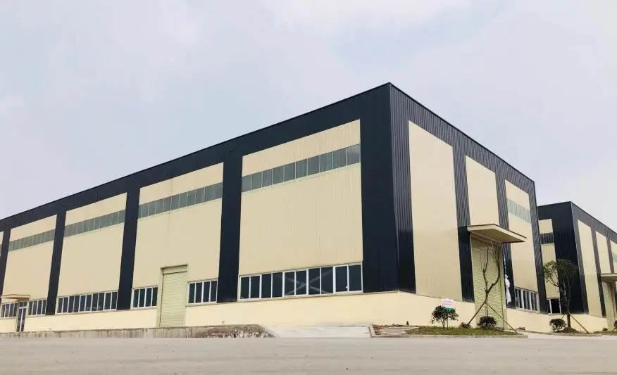 Prefabricated steel frame warehouse building