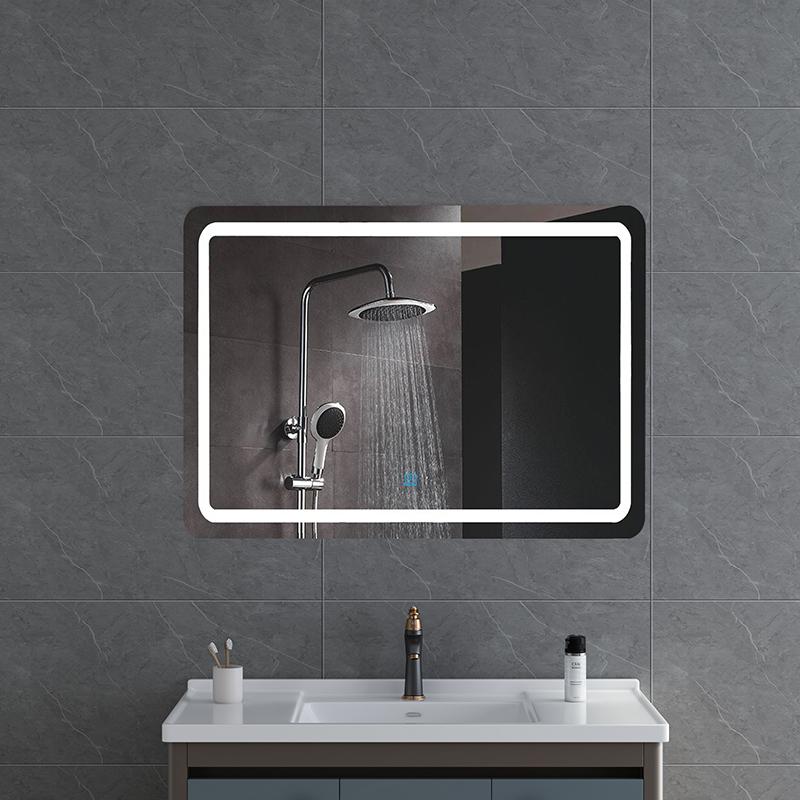 Bathroom LED mirror internal lighted