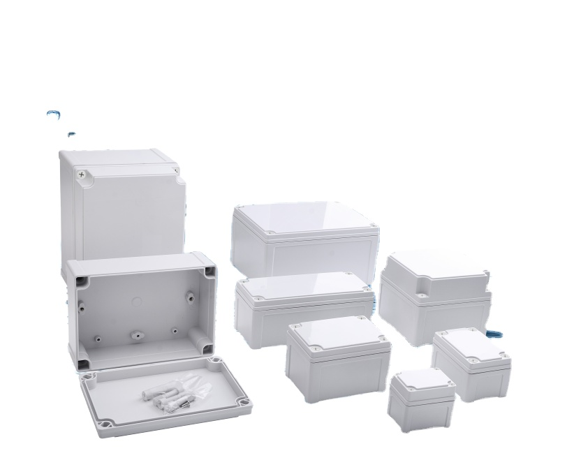 Weatherproof Outdoor Plastic ABS Cable Connection Junction Box
