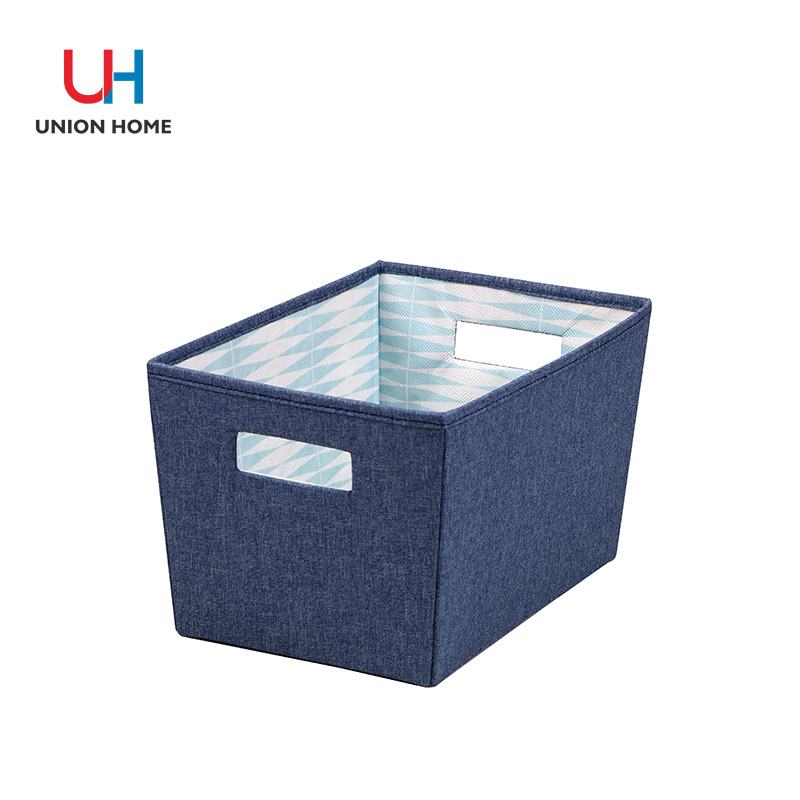 Polyester and nonwoven storage tote