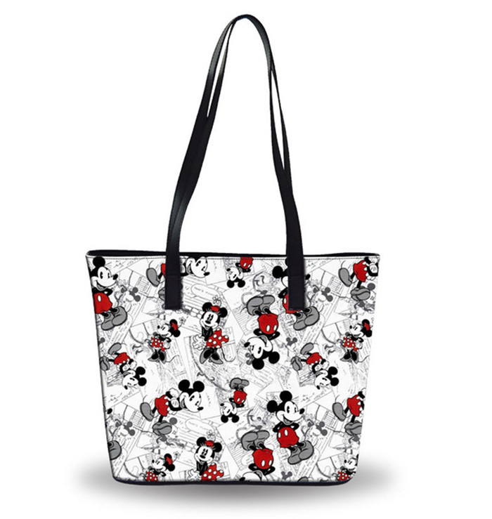 Cartoon lady Tote Large Capacity bag