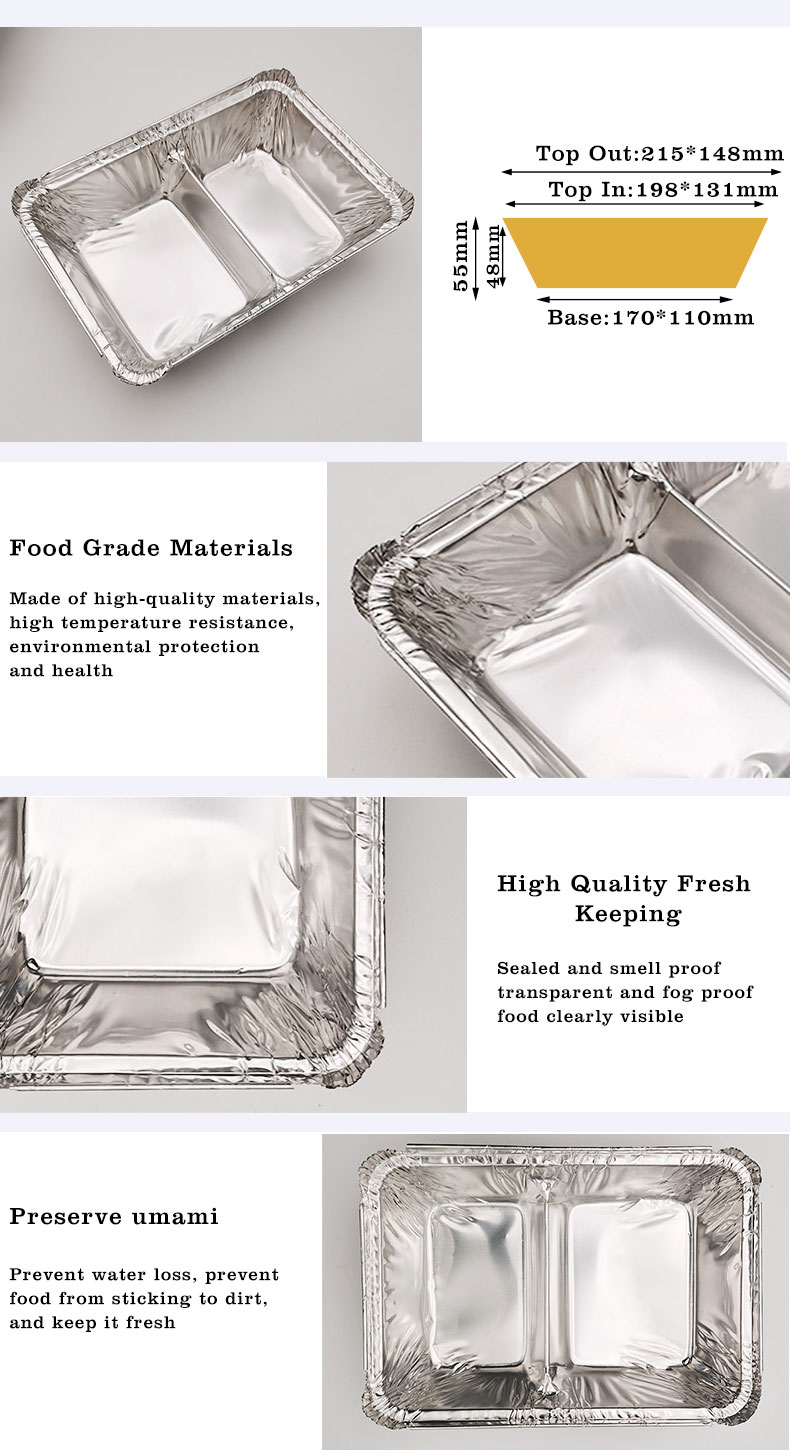 Aluminium foil cooking trays Manufacturers