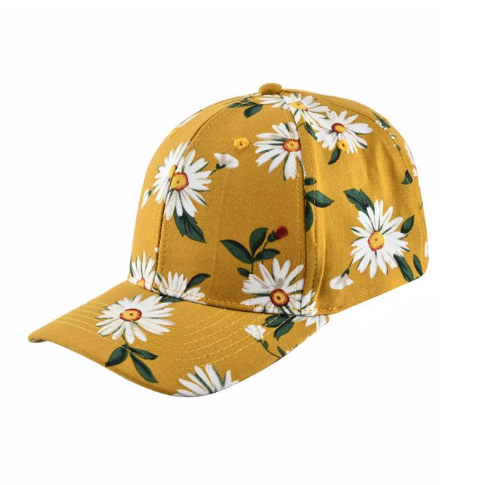 Small yellow daisies cap