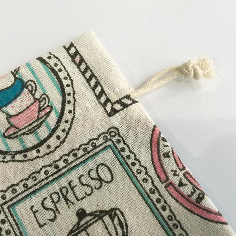 Customized linen gift bag