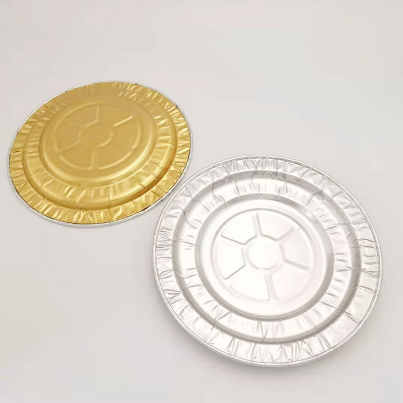 golden alu foil tray