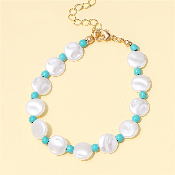 Oval Pearl Bracelet