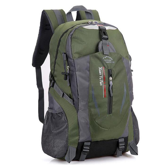Men Nylon Travel Backpack