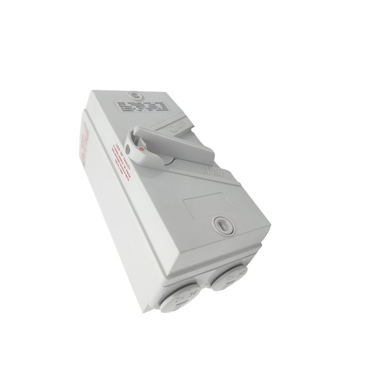 Australia SAA Single Phase 20-63A Outdoor Weatherproof Isolator Switch