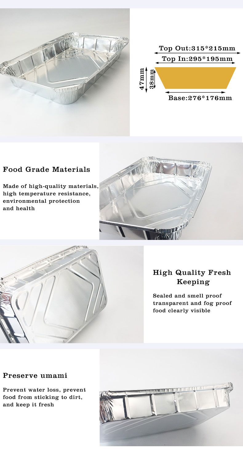 small foil containers with lids Manufacturers