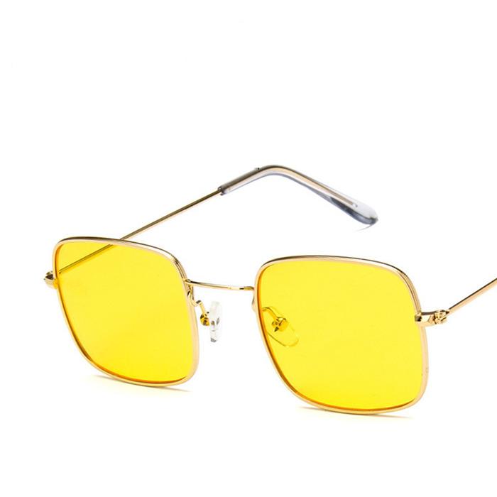 New retro small square sunglasses