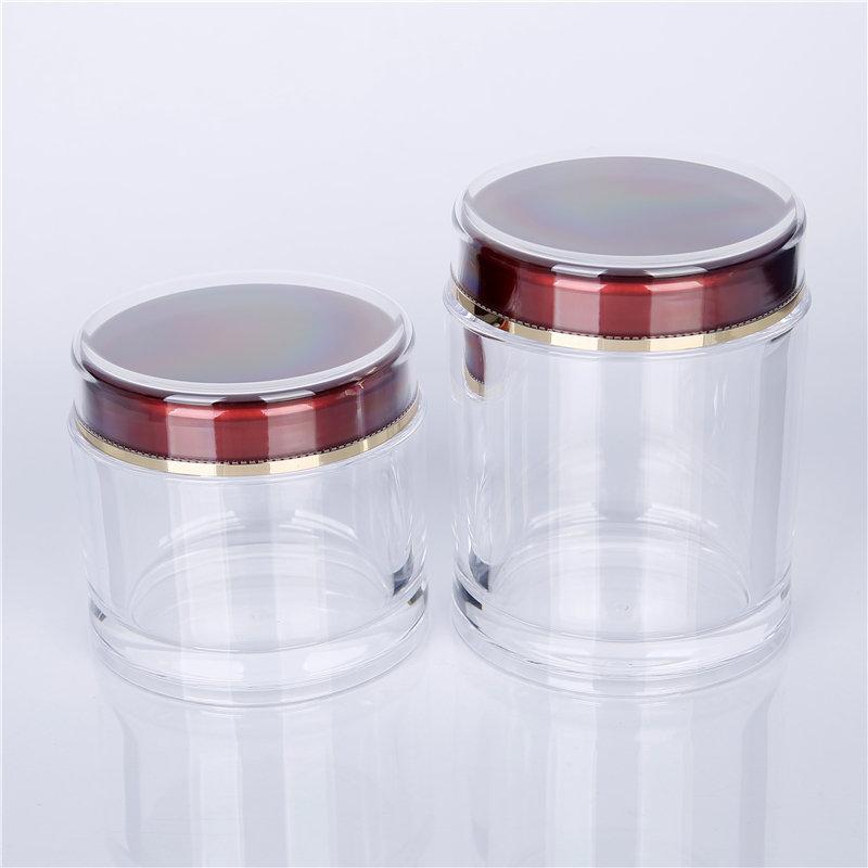 Cosmetic jars with lids bulk