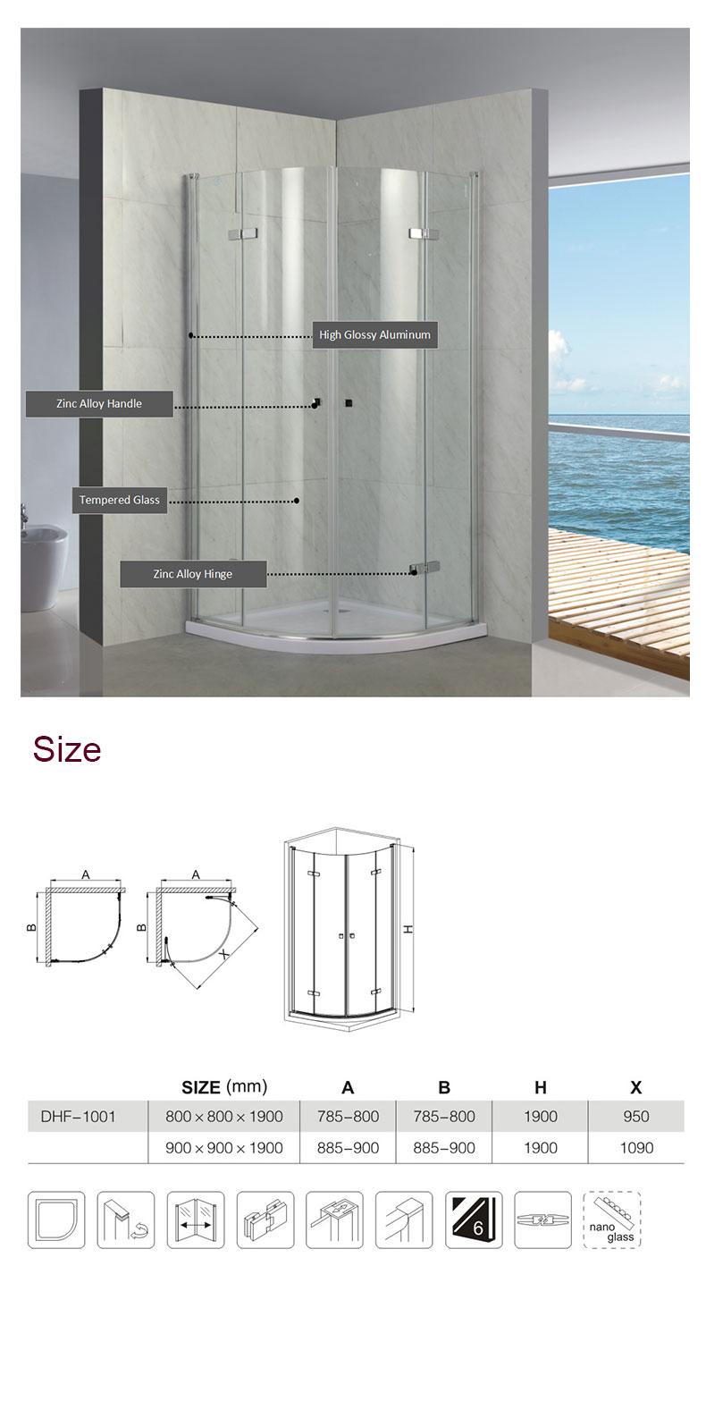 shower enclosure installation cost