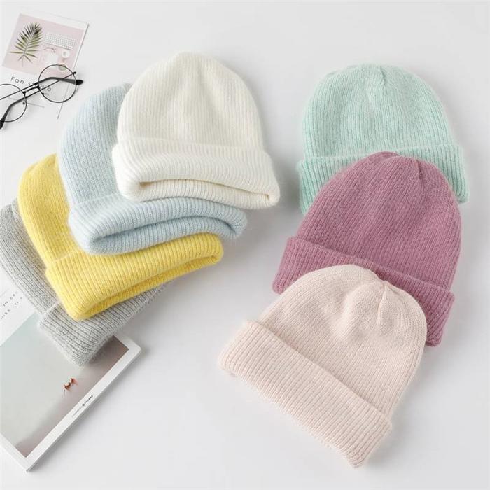 Winter Hat Knitted Beanie Hat