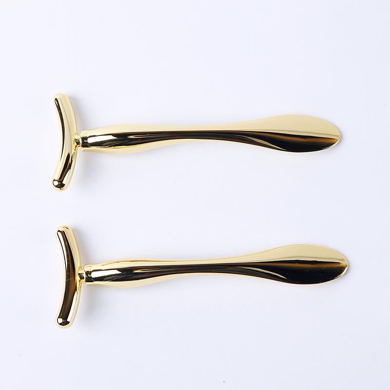 Golden Cosmetic spatula