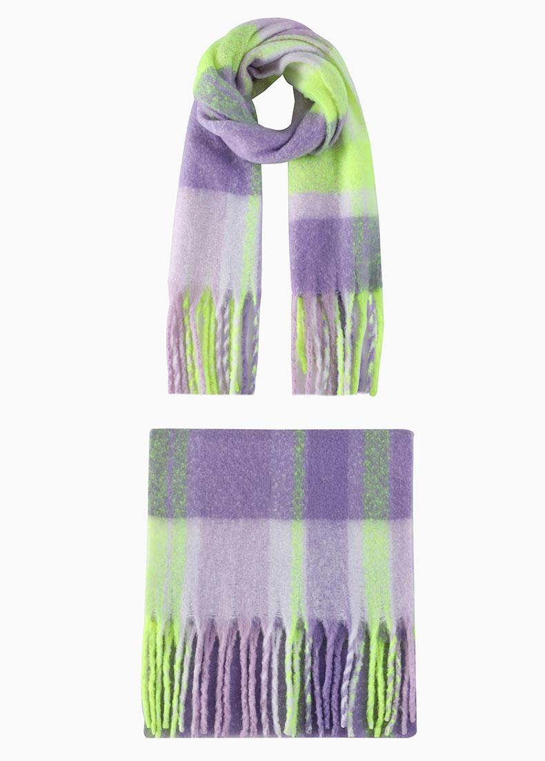 bulk knit scarves