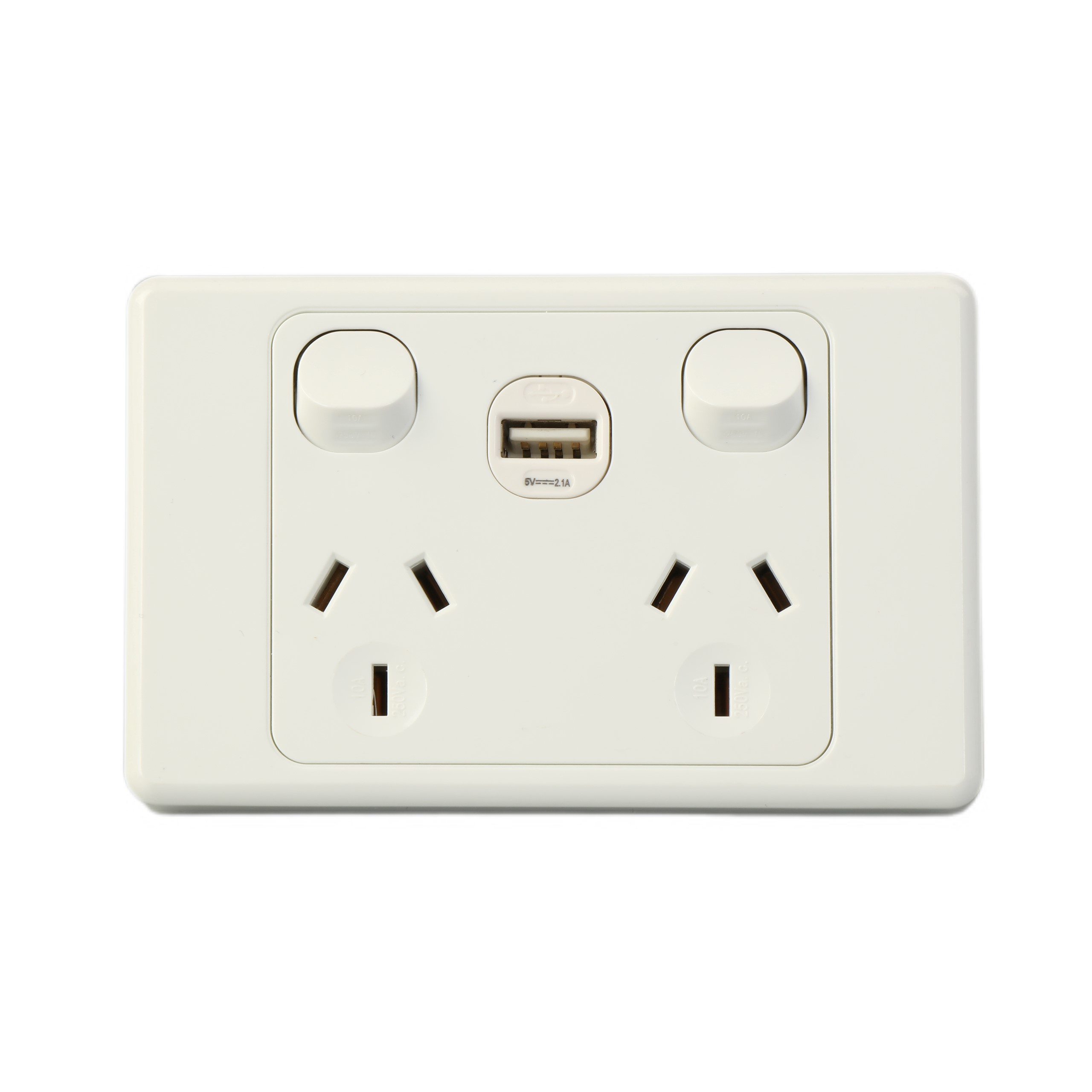 Australia Powerpoint Sockets Switches With Double USB