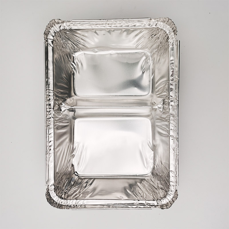 Aluminium foil cooking trays