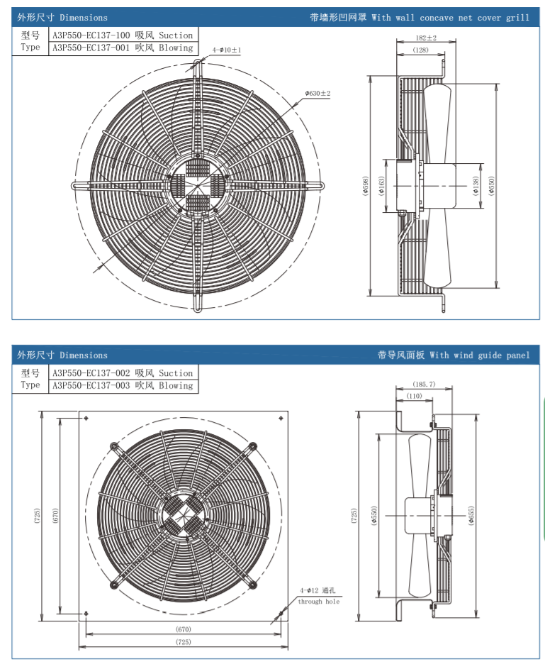 axial fan guide vane design