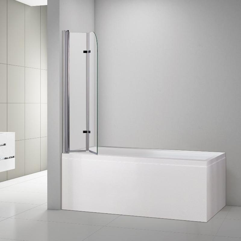 Bi-folding Bathtub Screen