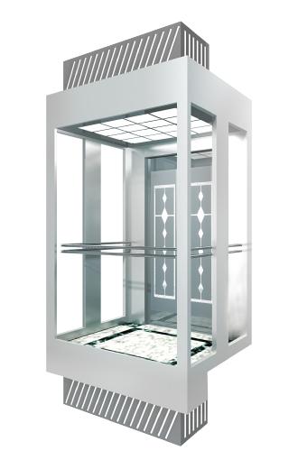 4 passenger elevator size