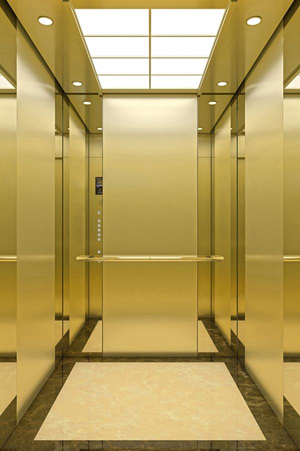 Beautiful PVC Floor Passenger Elevator