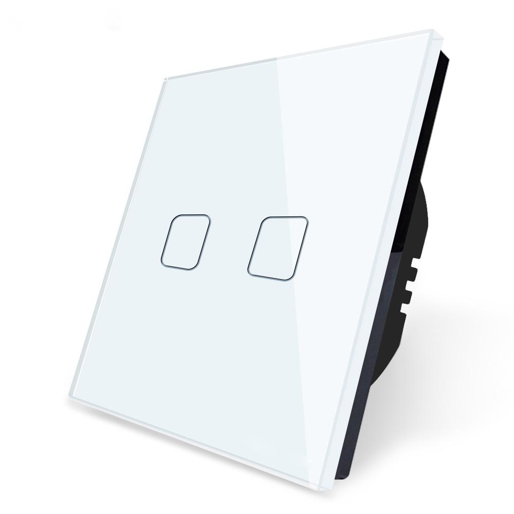 Tuya Wifi 1 Gang 2 Ways Smart Life Wifi Switch Touch Wall Light Switch