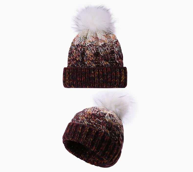 twist knitted hat
