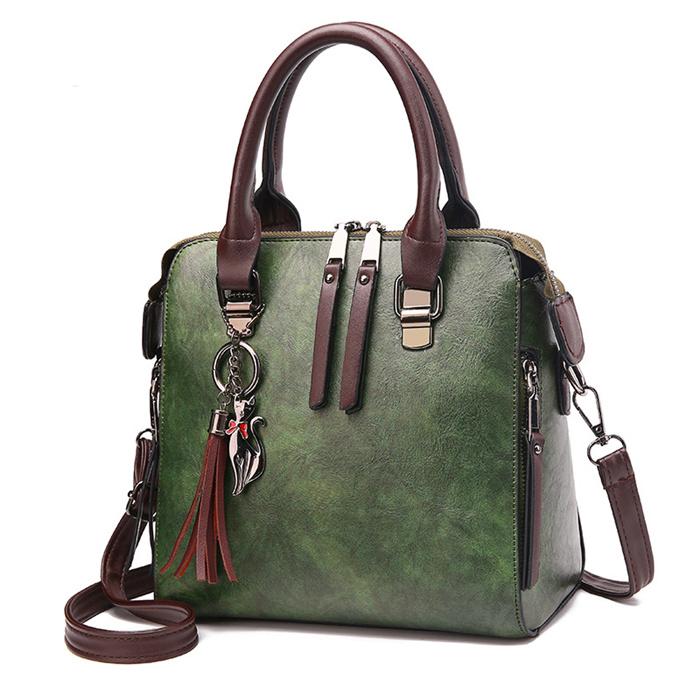 Canvas Handbags Mini Student Bag