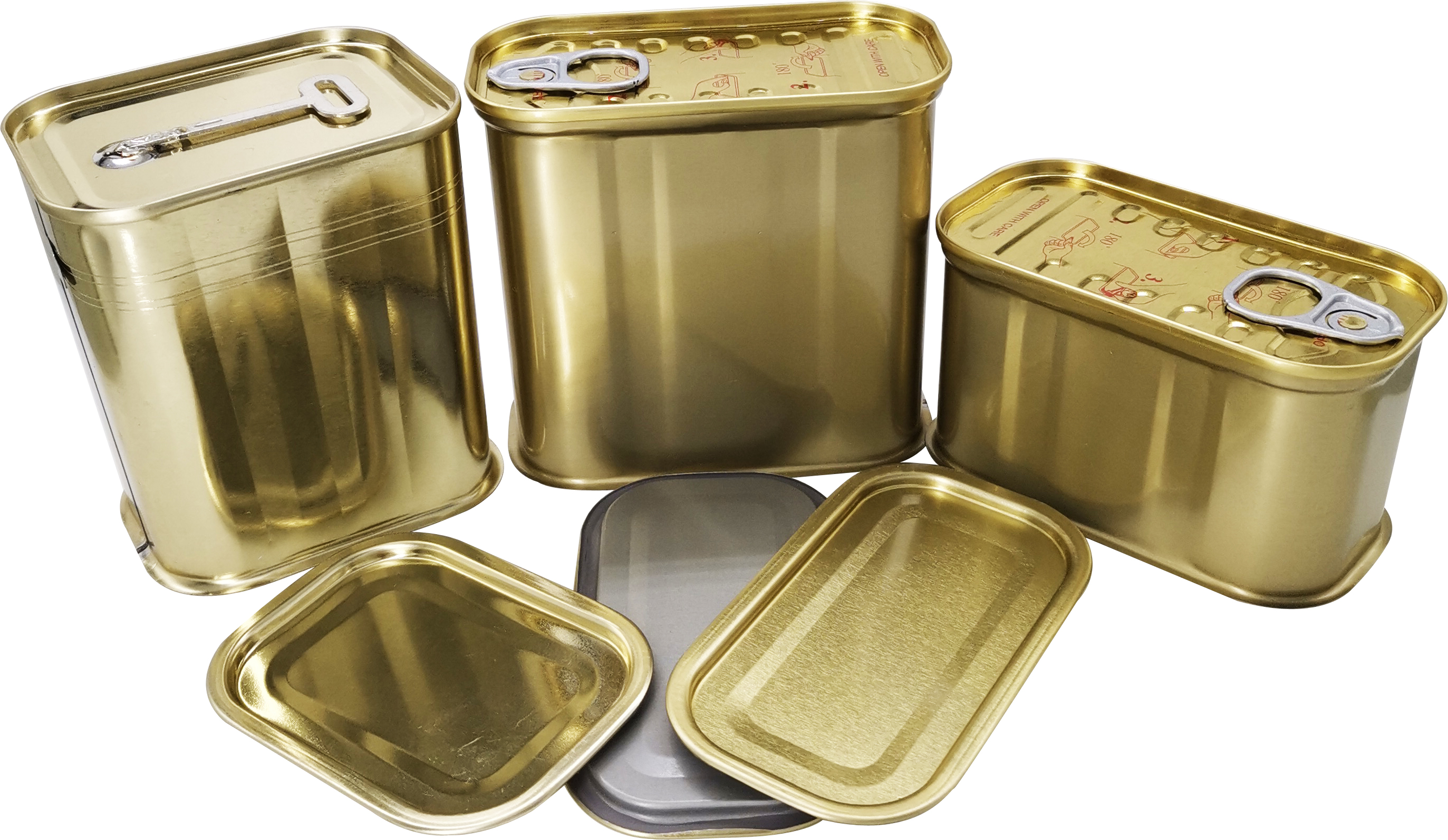tin cans with lids Factory