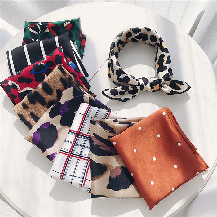 Hair Band Square Scarf