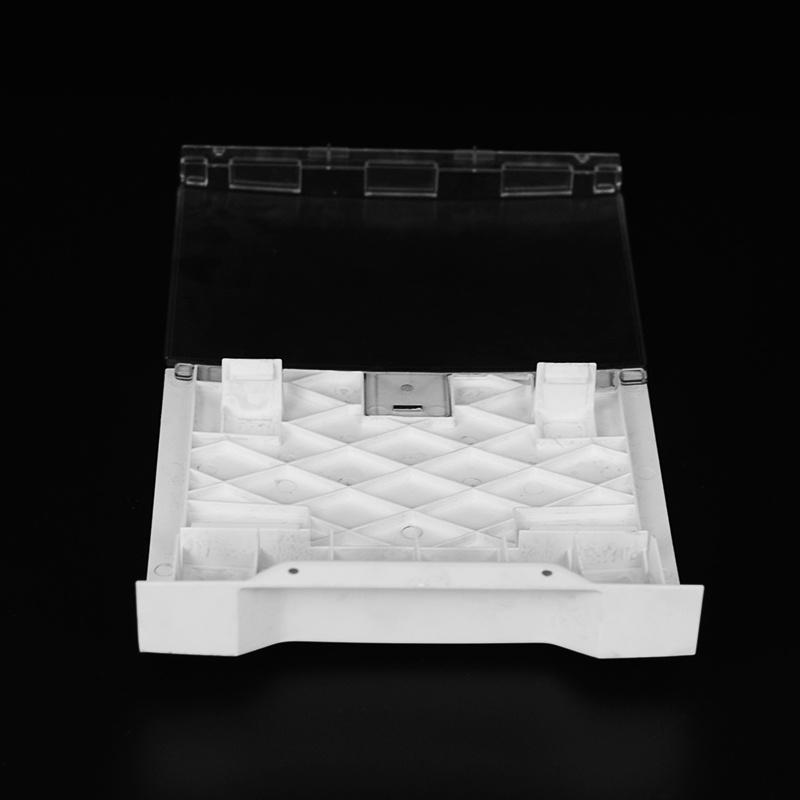 Flame retardant plastic injection wall mounting bracket