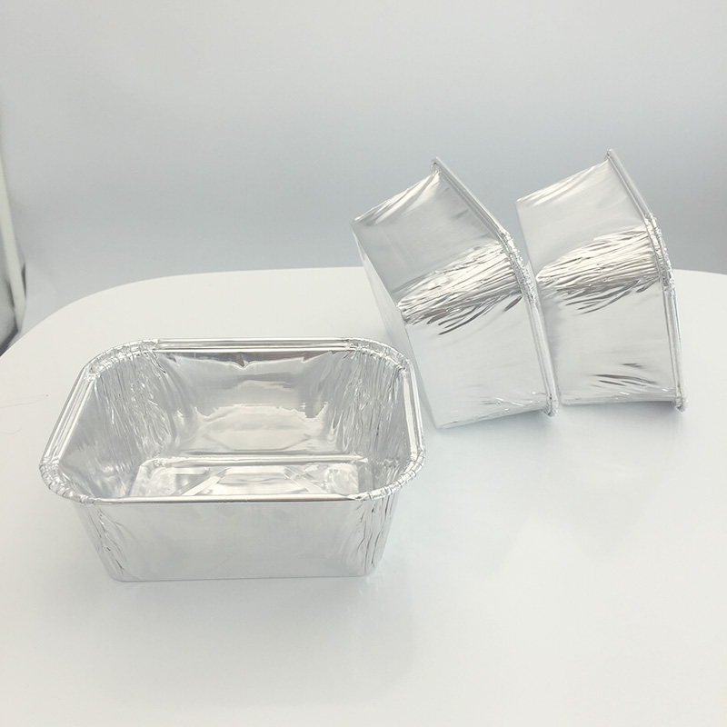 Aluminium foil tray in oven Supplier