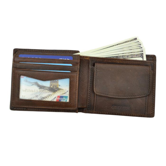 Cow Leather Men Wallets