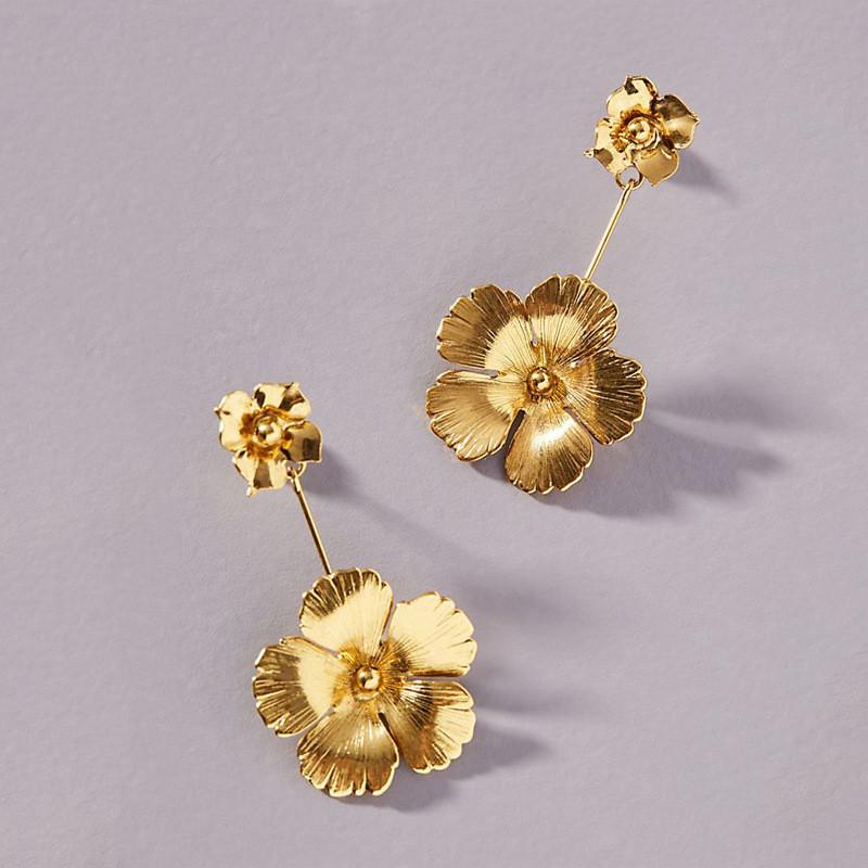Flowers Dangle Earrings
