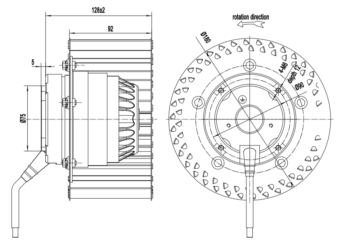 centrifugal fan vs centrifugal blower