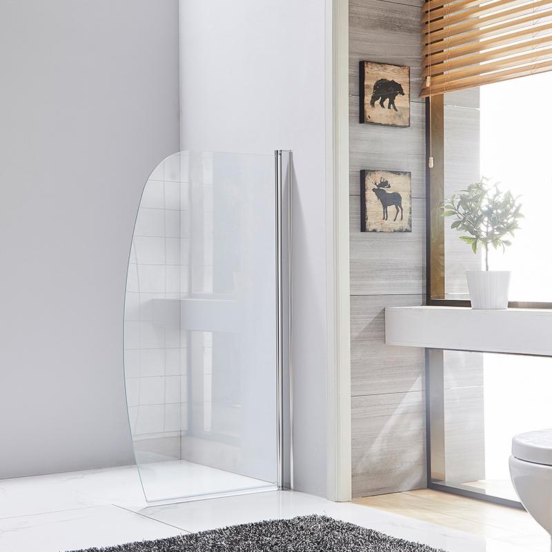 Hinged bathtub screen suppliers