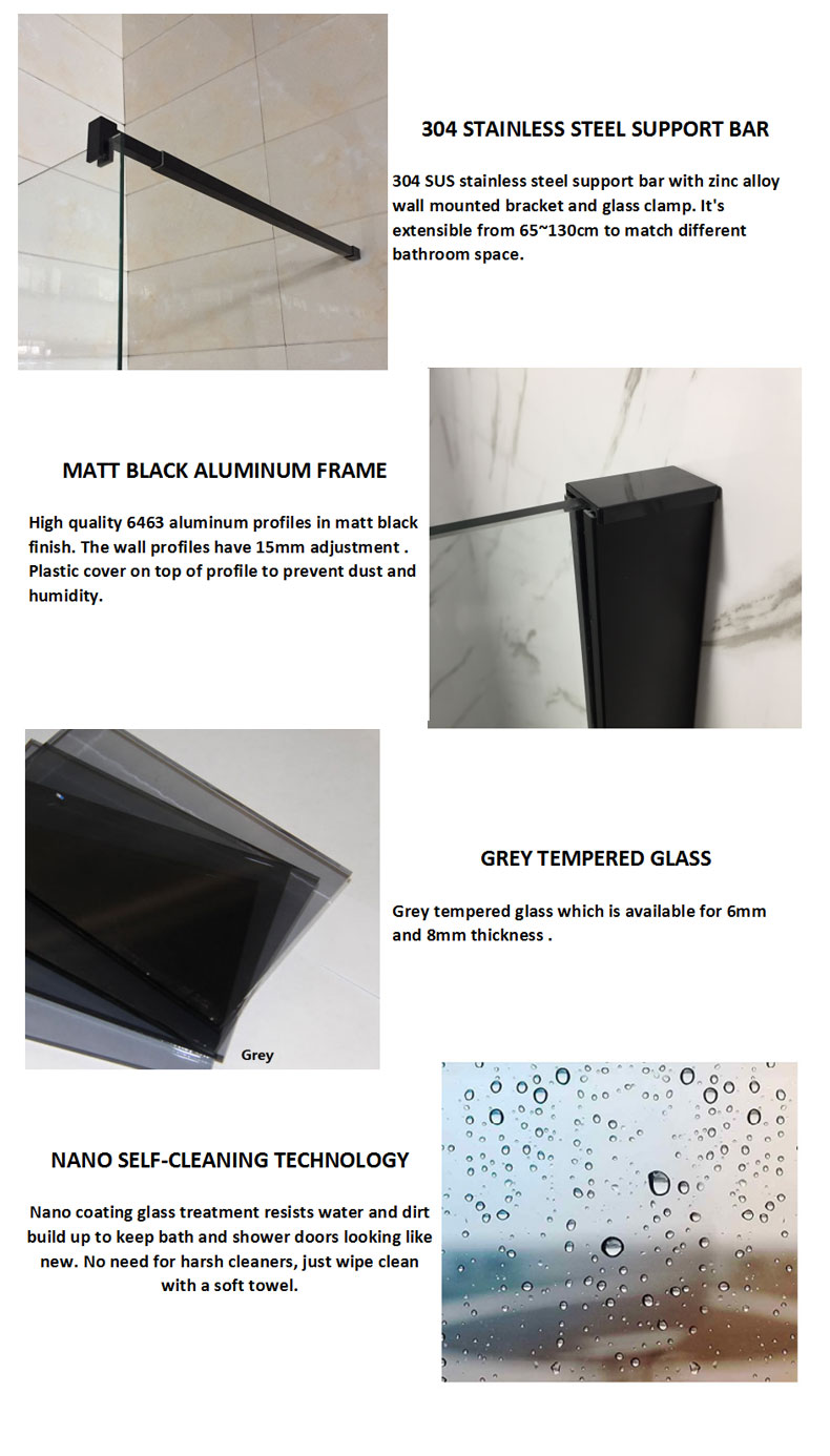 Glass Walk-in Shower Enclosure manufacturers