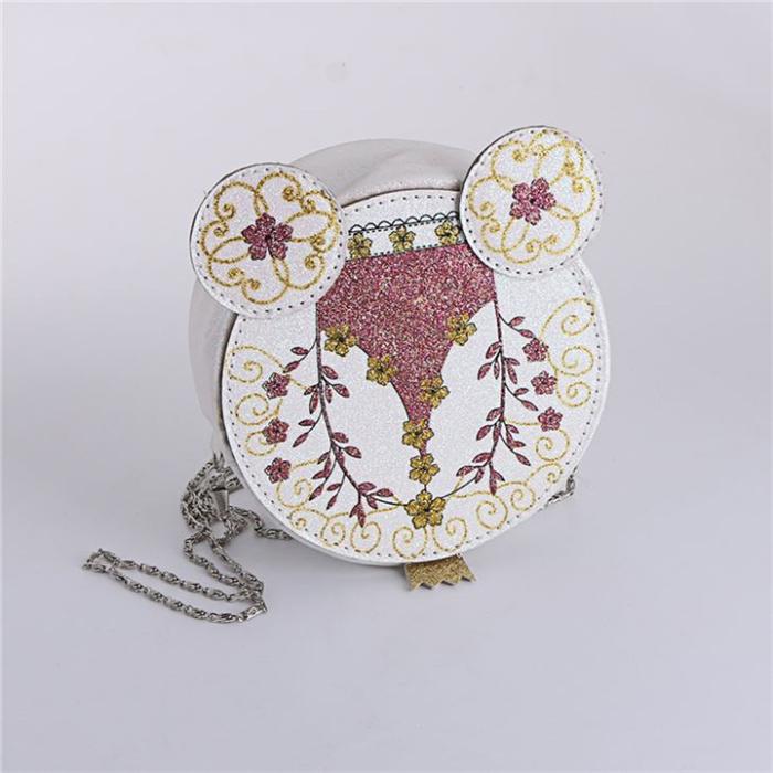 Cute Embroidery Pocket Shoulder Bag