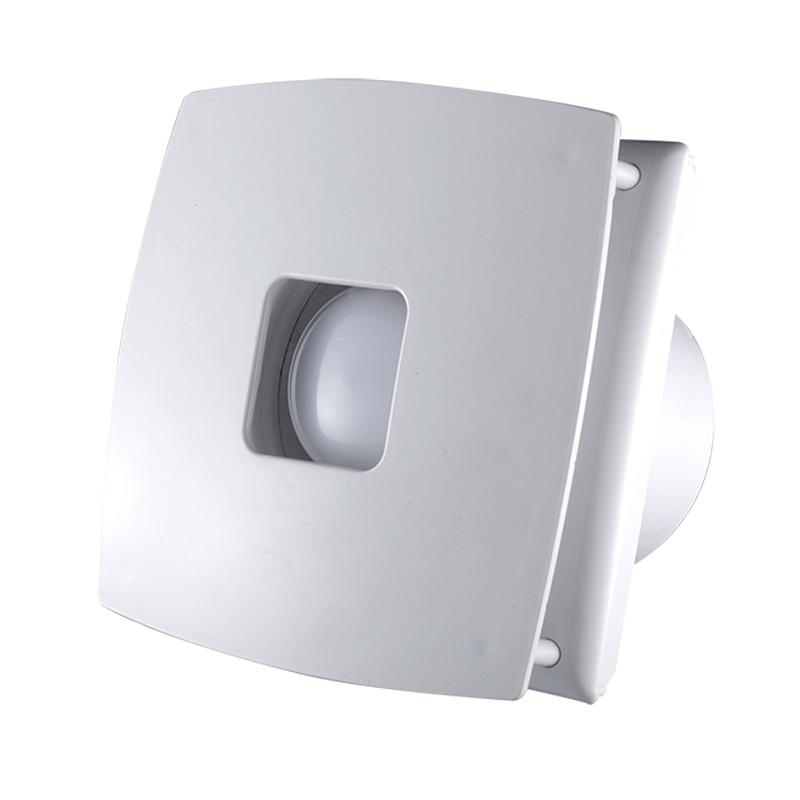 Kitchen Bathroom Exhaust Fan Ceiling Mounted Ventilation Fan With LED Light
