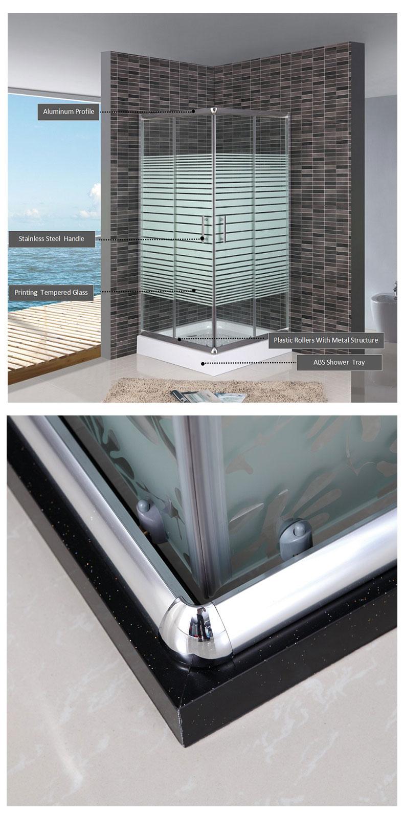 32x32 shower enclosure
