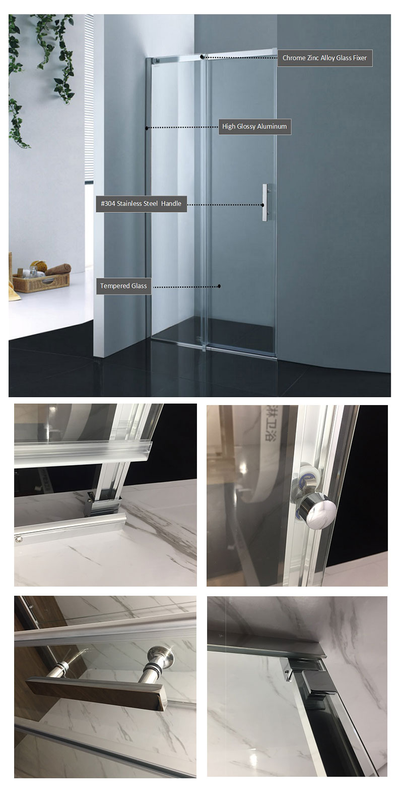 shower door parts manufacturers