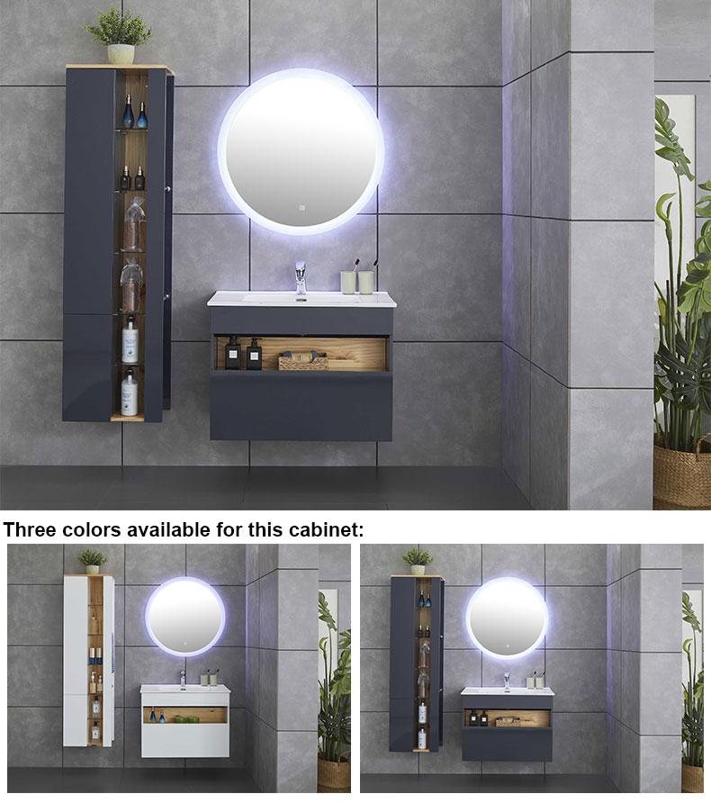MDF configurable bathroom vanities